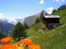 Idyllische Landschaft bei Himmelberg