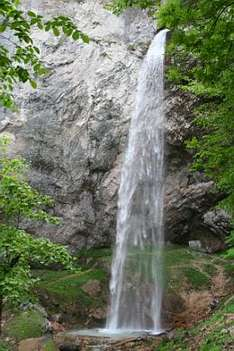 Wildensteiner Wasserfall bei Gallizien